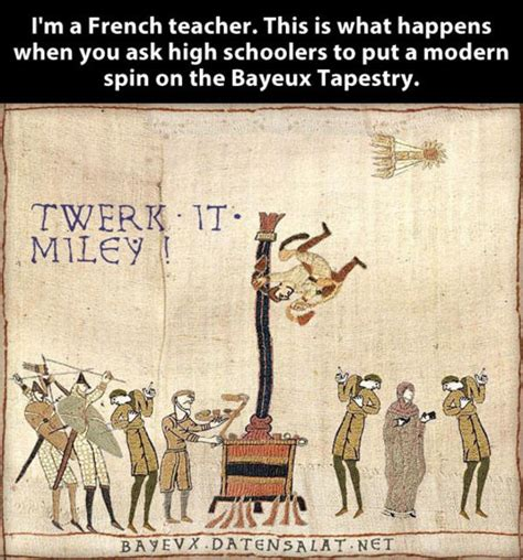 Bayeux Tapestry Meme - a modern spin medieval macros bayeux tapestry parodies