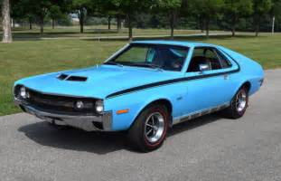 Clean Upholstery Car Big Bad Blue Mostly Original 1970 Amc Amx 360 4 Speed