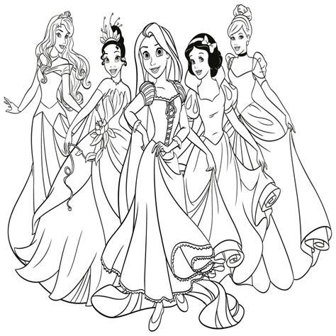 imagenes para colorear princesas de disney dibujos de rapunzel para colorear e imprimir