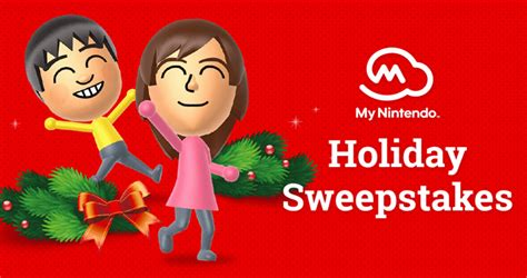 Nintendo Holiday Sweepstakes - my nintendo holiday sweepstakes 2017 win a nintendo switch prize pack