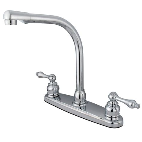 Water Saving Kitchen Faucet by Kingston Brass Gkb711alls Water Saving High Arch Kitchen Faucet With Lever Handles
