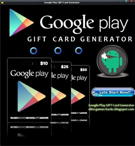 Google Play Gift Card Download - google play gift card generator games hacks download