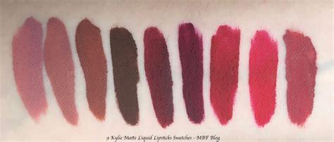 Cosmetics Single Matte Liquid Lipstick True Brown K 9 matte liquid lipsticks shades review swatches