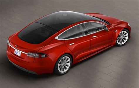 Tesla E85 Tesla Adds Glass Roof Option To Model S Gas 2