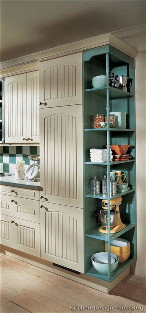 Kitchen Cabinets Shelves Ideas by Pictures Of Kitchens Traditional Two Tone Kitchen