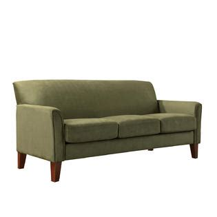 sage color sofa oxford creek park hill sofa in sage microfiber home