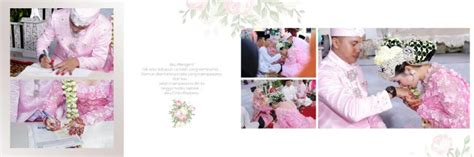 layout kolase wedding desain album pernikahan cetak foto album kolase