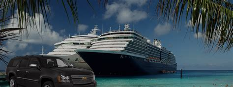 Car Service To New York Cruise Port by Signature Cruise Port Limousine Service Newark Bayonne