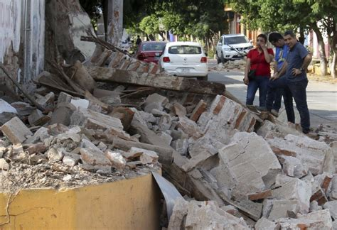 Earthquake Oaxaca | mexico earthquake see the devastation left by historic