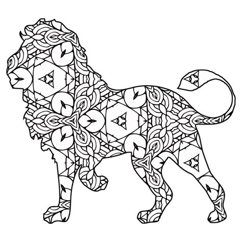 geometric cat coloring pages 30 free coloring pages a geometric animal coloring