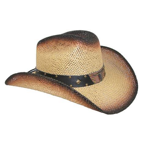 Western Straw Cowboy Hats For Men | mens straw long horn western cowboy hat by wild bill hats
