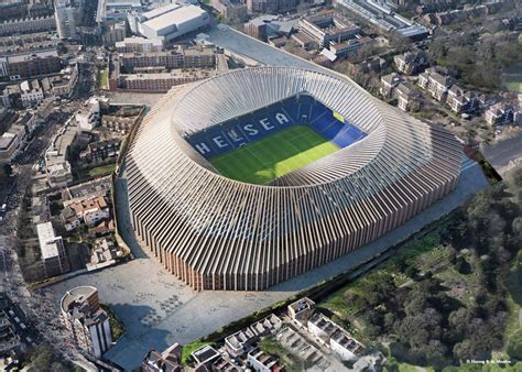 chelsea stadium herzog de meuron release updated images of the new