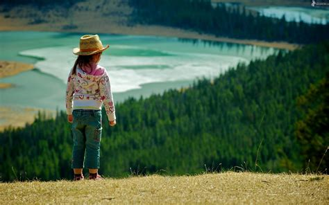 imagenes de paisajes con personas chica
