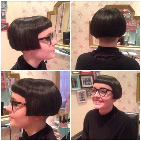 return of the bowl haircut daily makeover 57 best micro bob images on pinterest fringes bob hairs