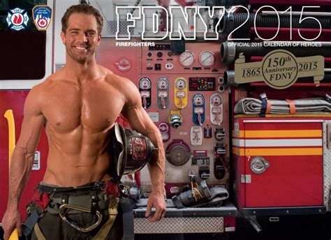 Firefighter Calendar 2015 Fdny Calendar Features Firefighter Aol