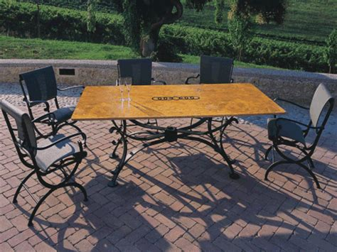 Marble Top Patio Table Patio Table In Iron With Marble Top Storefivestars Luxury Outdoor Furniture