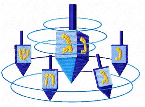 hanukkah colors hanukkah 18 machine embroidery designs set