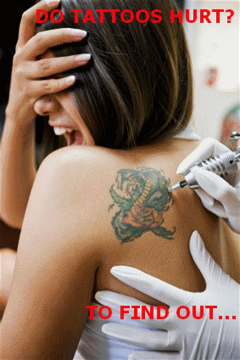how sore is a tattoo on your shoulder do tattoos hurt