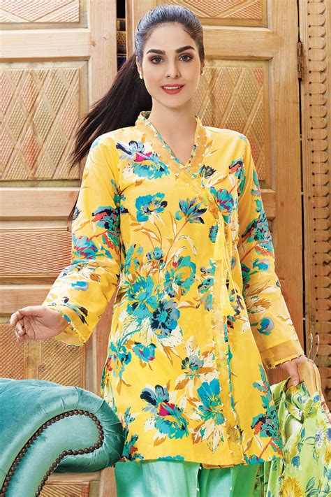 clothes design lawn famous spring summer dresses 2018 lawn collection clothes