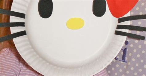 Paper Plate Hello paper plate hello mask crafty 2 the diy