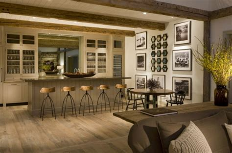 Cabin Kitchen Designs 办公室茶水间设计效果图 茶水间