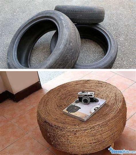 Kursi Ban Bekas daur ulang ban bekas jadi kursi rumah