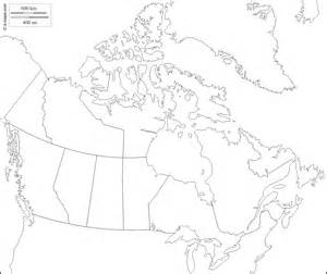 printable outline map of canada canada free map free blank map free outline map free