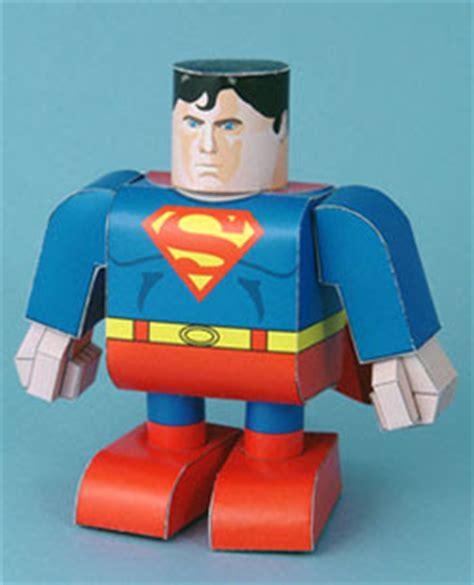 Superman Papercraft - superman papercraft paperkraft net free papercraft