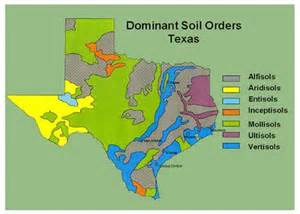 soil map of texas the soil orders of texas nrcs texas