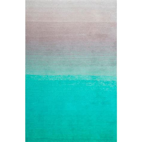 ombre area rugs nuloom ombre shag turquoise 5 ft x 8 ft area rug hjos02a 508 the home depot