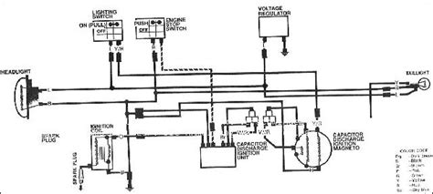xt350 wiring diagram electrical schematic