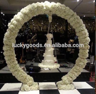 Wedding Arch Circular by Wholesale White Shape Wedding Metal Arch Buy