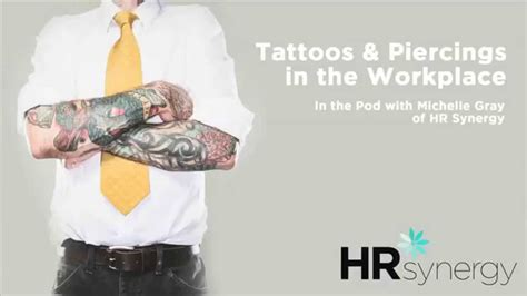 tattoos in the workplace statistics what is discrimination in the workplace
