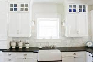 Fake Kitchen Backsplash by Honed Black Granite Countertops Traditional Kitchen