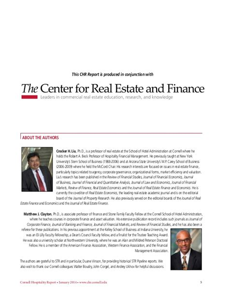 Nyu Mba Real Estate Program by Cornell Using Economic Value Added As A Barometer Of