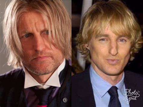 woody harrelson looks like owen wilson 5 remarkable look alikes to hunger games stars lionheartv