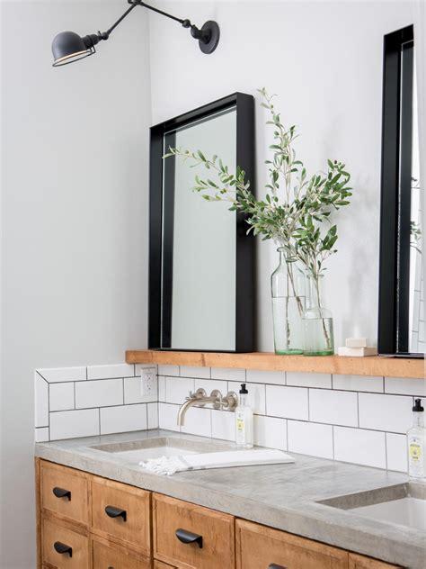 9 bathroom vanity ideas hgtv joanna gaines hgtv