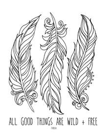 feather coloring page lostbumblebee april 2015