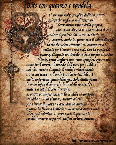 incantesimi con le candele rito con quarzo e candela tarocchi e streghe by princessesmy