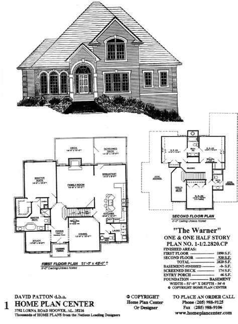 story and half house plans home plan center 1 1 2 2856 cp augustine