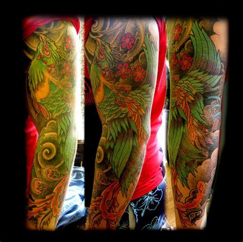 phoenix tattoo quarter sleeve phoenix sleeve by wildthingstattoo on deviantart