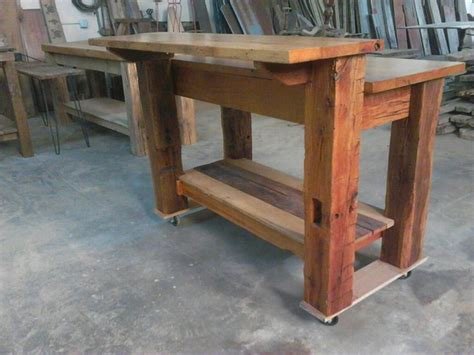 wood kitchen island legs 35 best barn wood kitchen islands we have built images on