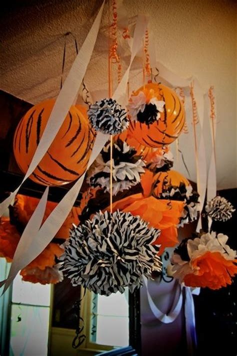 tiger centerpieces decorations tiger baby shower bengals football theme