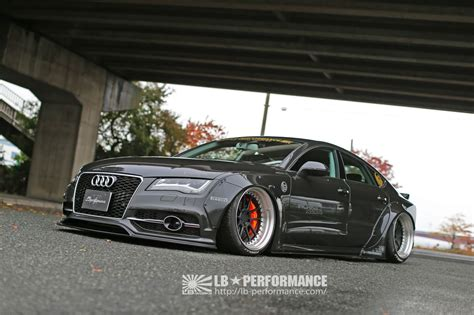 audi u7 lb works audi a7 s7 liberty walk リバティーウォーク