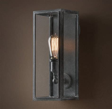 Narrow Wall Sconce I Actually Did Like This One 199 More Olde Union Filament Narrow Sconce Clear Glass