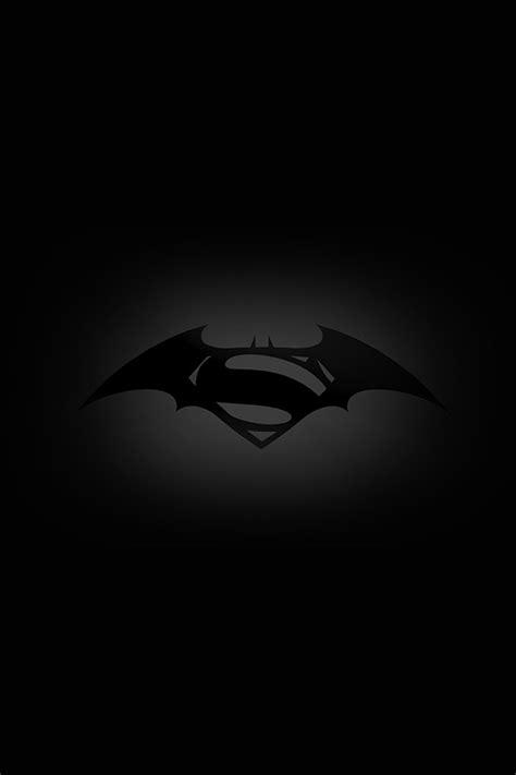 wallpaper batman hd iphone freeios7 batman superman logo parallax hd iphone ipad