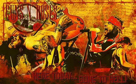 Guns N Roses Wall
