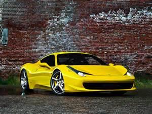 Italia 458 Yellow 458 Yellow Italia Wallpaper Hd Desktop Wallpaper