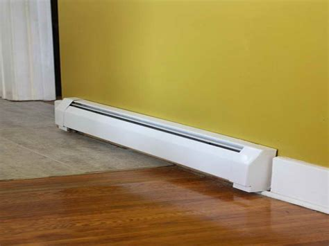 replacing baseboard heaters with wall heaters how to repair baseboard heater covers replacement