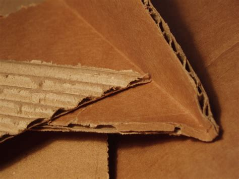 What Materials Are Used To Make Paper - corrugated fiberboard